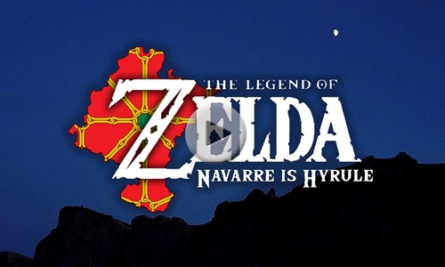 THE LEGEND OF ZELDA, NAVARRE IS HYRULE