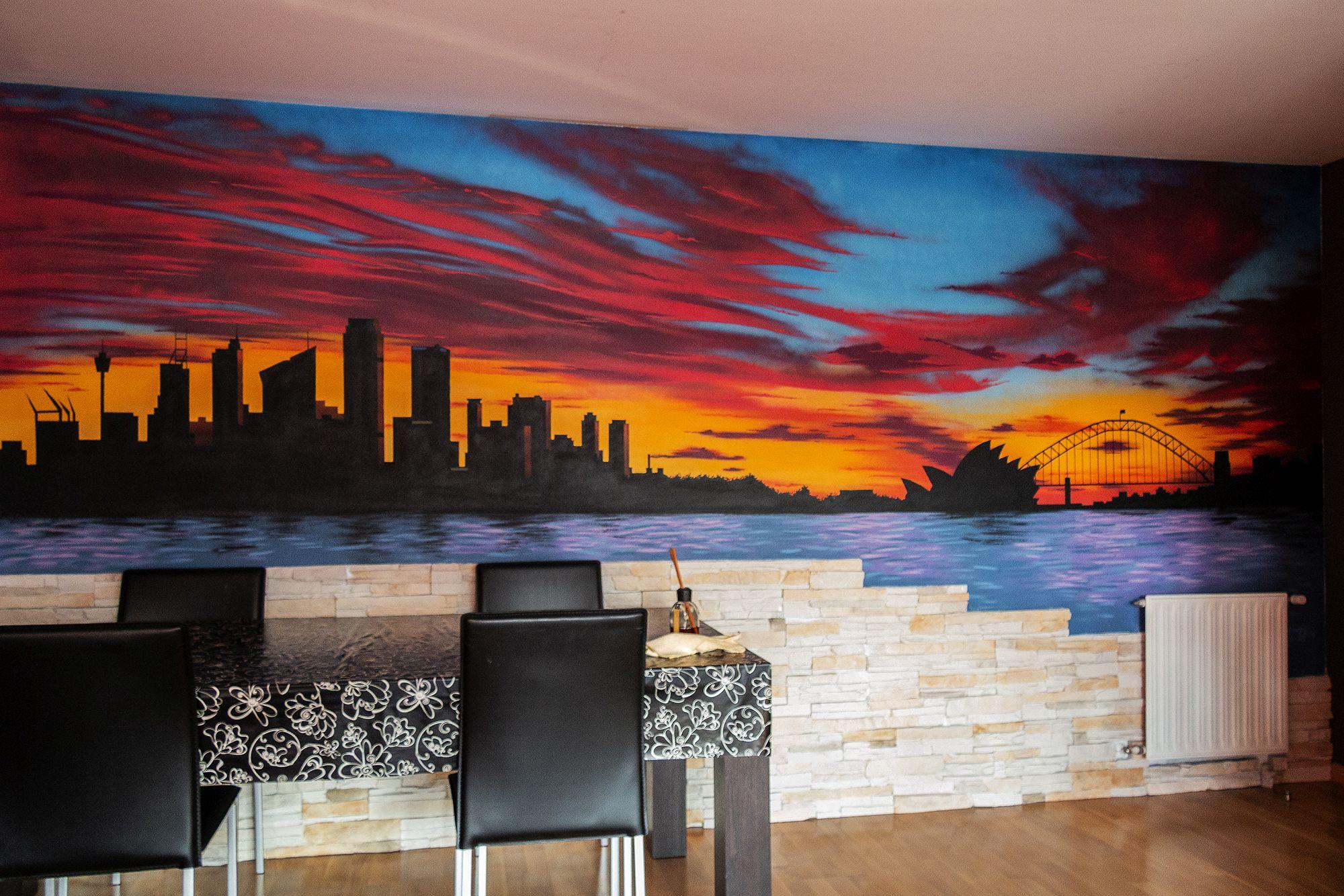 Murales en salones